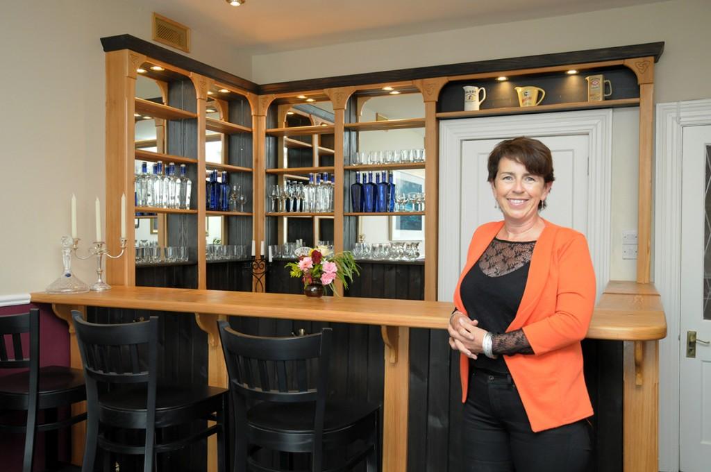 Caroline O'Connor - the talented designer and architect of our beloved bar.