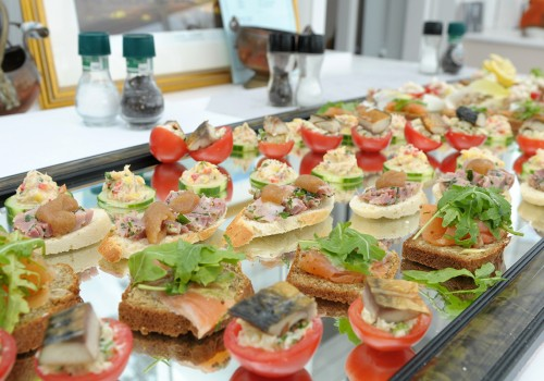 Milltown House Dingle Delicious finger foods