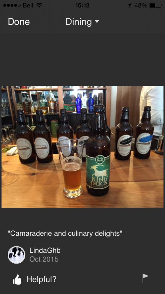 """""""Camaraderie & culinary delights"""" - Craft beer tasting in Milltown House"""