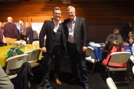 Stephen McPhilemy with Rick Steves