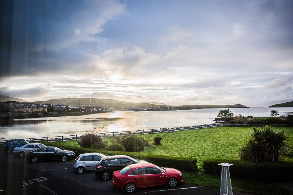 Dingle Harbour from Milltown House