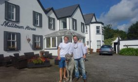 David Reuter, Stephen McPhilemy, Irish Wolfhound, Milltown House, Dingle