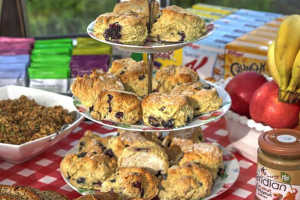 Irish Fruit Scones